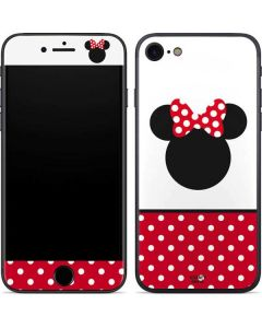 Minnie Mouse Symbol iPhone 7 Skin