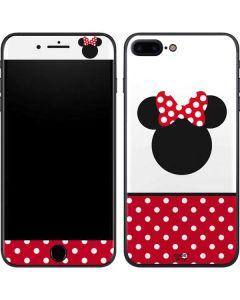 Minnie Mouse Symbol iPhone 8 Plus Skin