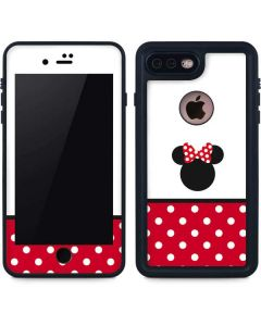Minnie Mouse Symbol iPhone 8 Plus Waterproof Case
