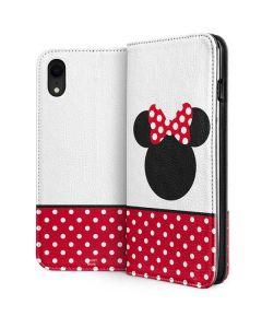 Minnie Mouse Symbol iPhone XR Folio Case