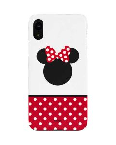 Minnie Mouse Symbol iPhone XR Lite Case