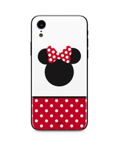 Minnie Mouse Symbol iPhone XR Skin