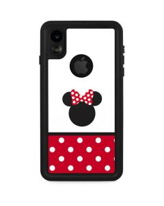 Minnie Mouse Symbol iPhone XR Waterproof Case