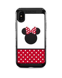 Minnie Mouse Symbol iPhone XS Cargo Case