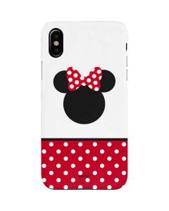 Minnie Mouse Symbol iPhone XS Lite Case