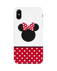 Minnie Mouse Symbol iPhone XS Max Lite Case