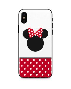 Minnie Mouse Symbol iPhone XS Max Skin