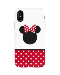 Minnie Mouse Symbol iPhone XS Pro Case