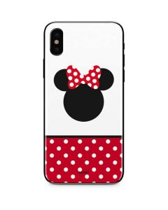Minnie Mouse Symbol iPhone XS Skin