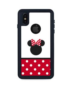 Minnie Mouse Symbol iPhone XS Waterproof Case