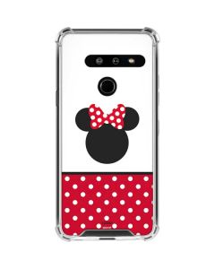 Minnie Mouse Symbol LG G8 ThinQ Clear Case