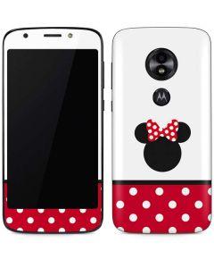 Minnie Mouse Symbol Moto E5 Play Skin