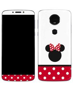 Minnie Mouse Symbol Moto E5 Plus Skin