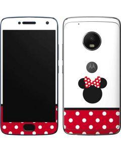 Minnie Mouse Symbol Moto G5 Plus Skin