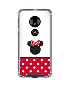 Minnie Mouse Symbol Moto G7 Play Clear Case