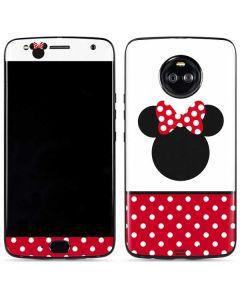 Minnie Mouse Symbol Moto X4 Skin