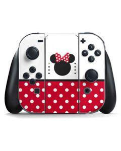 Minnie Mouse Symbol Nintendo Switch Joy Con Controller Skin