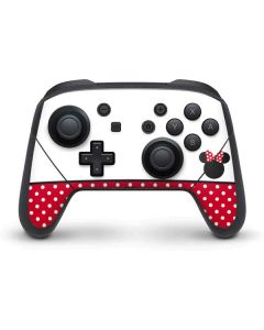 Minnie Mouse Symbol Nintendo Switch Pro Controller Skin