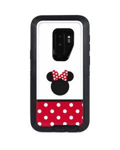 Minnie Mouse Symbol Otterbox Defender Galaxy Skin