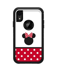 Minnie Mouse Symbol Otterbox Defender iPhone Skin