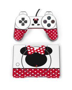 Minnie Mouse Symbol PlayStation Classic Bundle Skin