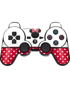 Minnie Mouse Symbol PS3 Dual Shock wireless controller Skin