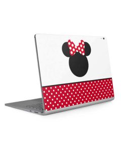 Minnie Mouse Symbol Surface Book 2 13.5in Skin