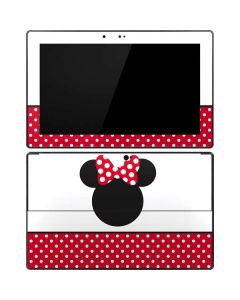 Minnie Mouse Symbol Surface Pro Tablet Skin