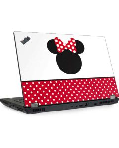 Minnie Mouse Symbol Lenovo ThinkPad Skin