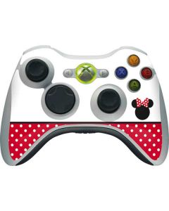 Minnie Mouse Symbol Xbox 360 Wireless Controller Skin
