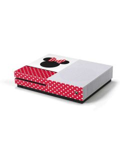 Minnie Mouse Symbol Xbox One S Console Skin
