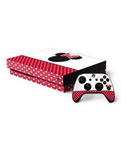 Minnie Mouse Symbol Xbox One X Bundle Skin