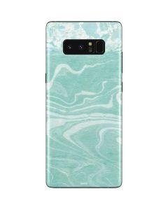 Mint Marbling Galaxy Note 8 Skin