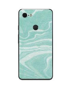 Mint Marbling Google Pixel 3 XL Skin