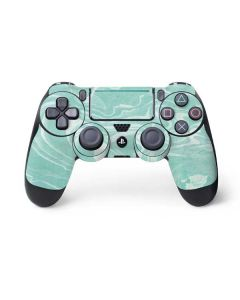 Mint Marbling PS4 Pro/Slim Controller Skin