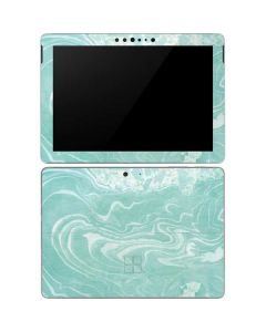 Mint Marbling Surface Go Skin