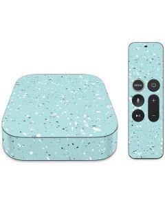 Mint Speckled Apple TV Skin