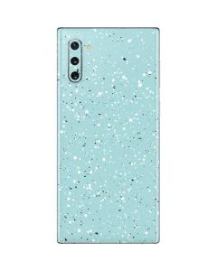 Mint Speckled Galaxy Note 10 Skin