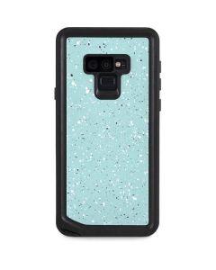Mint Speckled Galaxy Note 9 Waterproof Case