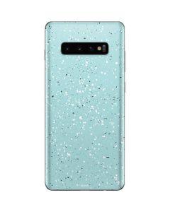 Mint Speckled Galaxy S10 Plus Skin
