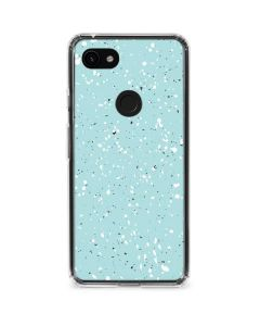 Mint Speckled Google Pixel 3a Clear Case