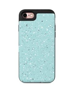 Mint Speckled iPhone 8 Wallet Case