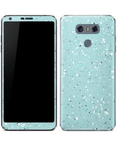 Mint Speckled LG G6 Skin