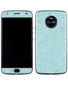 Mint Speckled Moto X4 Skin