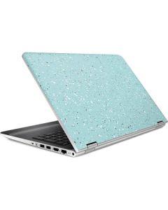 Mint Speckled HP Pavilion Skin