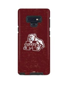 Mississippi State Bulldogs Distressed Galaxy Note 9 Pro Case