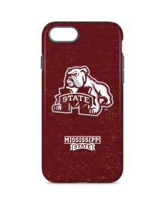 Mississippi State Bulldogs Distressed iPhone 7 Pro Case