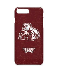 Mississippi State Bulldogs Distressed iPhone 8 Plus Lite Case