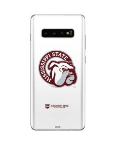 Mississippi State Interlocking Logo Galaxy S10 Plus Skin