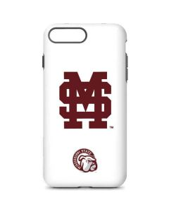 Mississippi State Interlocking Logo iPhone 8 Plus Pro Case